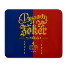 Property of Joker Suicide Squad Harley Quinn Large Mouse Pad
