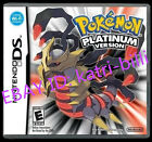 Nintendo Pokemon Platinum Version Game Card for 3DS Lite NDSI NDS DSI