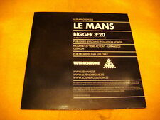 Cardsleeve Single cd LE MANS Bigger PROMO 1TR 2005 rock