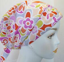 Fun Contemporary Chemo Cancer Hat Alopecia Hairloss Scarf Turban Headwrap