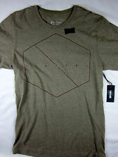 Rip Curl Surf Premium fit short sleeve t shirt men's gray size LARGE