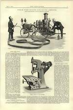 1892 Merryweather Steam Fire Engine S America Cunliffe Croom Milling