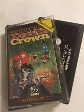 DEVIL'S CROWN SINCLAIR ZX SPECTRUM 48K CASSETTE TAPE PC GAME By MASTERTRONIC