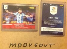 2016 PANINI INSTANT Red LIONEL MESSI #16 COPA AMERICA Argentina 1 of 435 made
