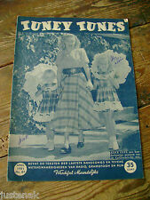 TUNEY TUNES APRIL 1951 ALICE FAYNE CHERRY WAINER GROUCHO MARX