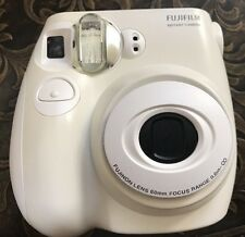 FUJIFILM White Instax Mini 7S Instant Film Camera - Great gift Photography