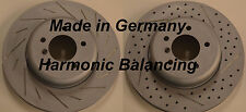 BMW 128i 325i 328 Drilled Slotted Rotors Harmnic Balancing Made In Germany Front