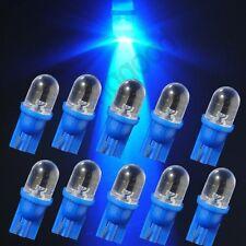 10 x Bombillas 1 LED T10 W5W Salpicadero cuadro indicador. Bombilla AZUL Xenon
