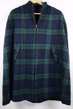 Laird-Portch of Scotland 100% Wool Tartan Cape; Vintage; OS