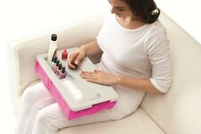 Perfect Solutions Portable Laptop Manicure Nail Care Salon Comfortable Lap Tray
