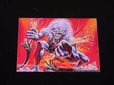 Iron Maiden-ORIGINAL 1993 A Real Live One Capitol PROMO Postcard/Sticker!