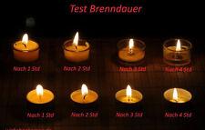 50 Teelichter Bienenwachskerzen Beeswax candle tea lights Kerzen Bienenwachs