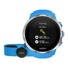 Suunto Spartan Sport Blue (HR) GPS Watch incl. Smart Sensor Belt - SS022652000