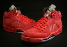 PREORDER Nike Air Jordan Retro 5 V Red Suede Blood Red sz 9.5 Release 7-1-17