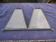 1968 DODGE CORONET STATION WAGON REAR SIDE DOOR GLASS OEM PAIR 1969 1970
