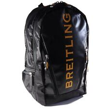 Breitling Luxury Black And Yellow Backpack Bag Very Rare 2017