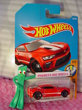 2016 i Hot Wheels '16 CAMARO SS #129✰NEW Red;White;mc5✰Muscle Mania✰2017 Case A