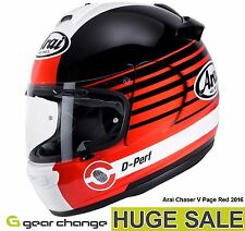 "Arai Chaser V ""Page Red"" (Size Medium) Was £399.99 - Now £299.99 (25% OFF)"