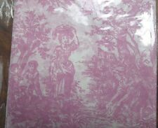 Pink Toile Gift Wrap Tissue Paper, 240 Sheets Wholesale Lot, Premium wrapping