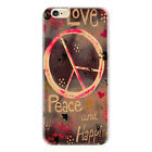 Meaningful Love Peace & Happiness Hard Case for iPhone 4S 5 5S SE 6 6S Plus