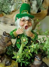 Mark Roberts Leprechaun Elf, Sm  Limited Edition 2014