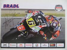 Handsignierte Autogrammkarte *STEFAN BRADL* MotoGP Saison 2014 Deutschland