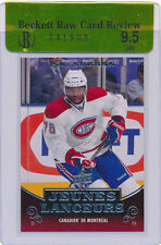 10-11 PK Subban Rookie rc, UD Young guns YG French, RAW BGS 9.5