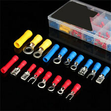 300Pcs Assorted Insulated Crimp Terminals Electrical Wire Connector Spade Set BE