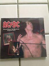 AC/DC boston 1978 rare