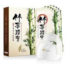 [LOVEMORE] Bamboo Liquid Moisturizing Facial Silk Mask Sheet 5pcs NEW