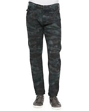 NWT MADE IN USA True Religion GENO MEN'S Jeans size 36 $228 TIGER CAMO