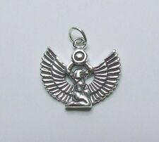 ISIS EGYPTIAN GODDESS PAGAN CHARM CHARMS 925 STERLING SILVER