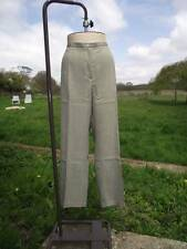 Flattering WARDROBE Sage Green Linen Look Trousers Plus Size 26 BNWT