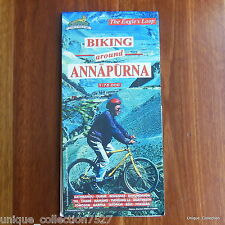 MP-06 Biking Around Annapurna Range Biking Map From Nepal - Scale 1:75,000