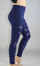 Lululemon Wunder Under Pant Hi-Rise Tech Mesh size 4 Hero Blue NWT Yoga Pants