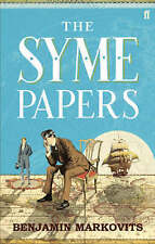 The Syme Papers by Benjamin Markovits p/b NEW Philip Roth