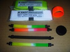 4 x RKEP Scorpion Vibration Dampener Tennis Racket racquet string Damper + grip