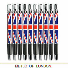 10 x UNION JACK PEN School Souvenir London Great Britain England Ball Point