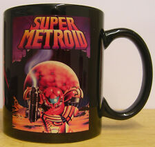 SUPER METROID - Coffee MUG CUP - retro gaming - Samus Aran