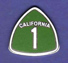 CALIFORNIA 1 PACIFIC COAST HIGHWAY HAT PIN LAPEL PIN TIE TAC ENAMEL BADGE #1464