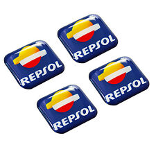 4 Domed Stickers Decal Badge Auto Moto Tuning Motorcycle Repsol Racing Oil Rally