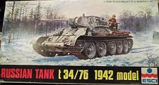 ESCI 1/72 T-34/76 Tank Model-1942 No.8032, Great Deal at a Low Price!