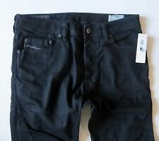Diesel Men Jeans 36 W x 32  T-Ride Slim Carrot Black New with Tags