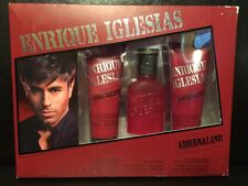 Adrenaline by Enrique Iglesias Cologne After Shave and Wash Gift Set For Men