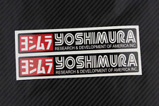Yoshimura Exhaust   Stickers Decal Decals