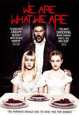WE ARE WHAT WE ARE DVD USA COMPLETE IN BOX FREE SHIPPING 2014 MOVIE