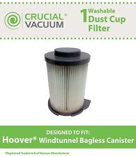 1 Hoover Windtunnel Bagless Canister Washable Vacuum Filter # 59134033