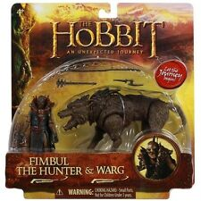 The Hobbit An Unexpected Journey Fimbul the Hunter & Warg 3.75 Inch Beast Pack