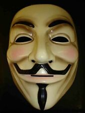 V for Vendetta Mask Guy Fawkes Anonymous Halloween Masks Dress Costume