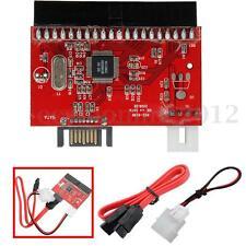 2 En 1 Convertidor Adaptador Serial ATA IDE A SATA Bilateral Bidireccional HDD